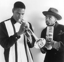 Denzel Washington e Spike Lee in Mo' better blues
