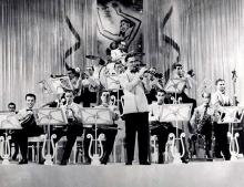 La big band di Benny Goodmann nel 1937