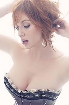 Christina hendricks è wonder di brutto.