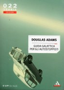 la coperrtina (cover) della guida galattica per autostoppisti di douglas adams