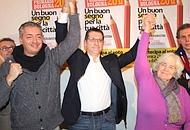i tre candidati alle primarie di bologna